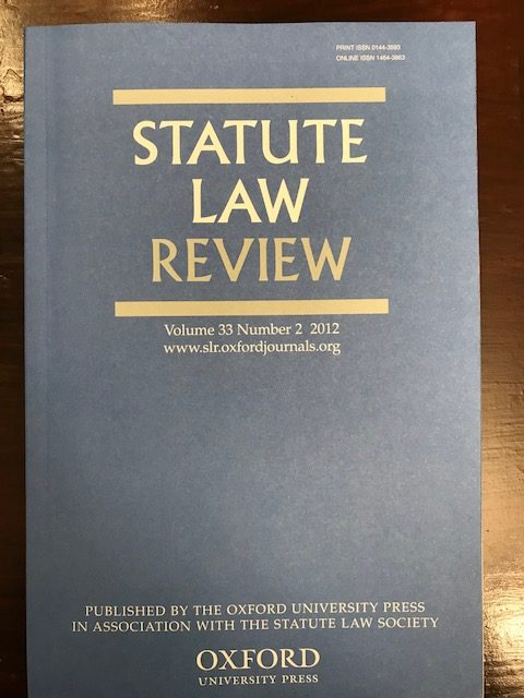 Statute Law Review